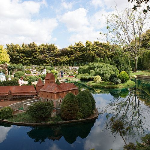 171 Best 01. Model Villages And Towns Images On Pinterest