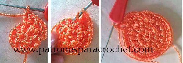 capellada de zapato crochet paso  a paso
