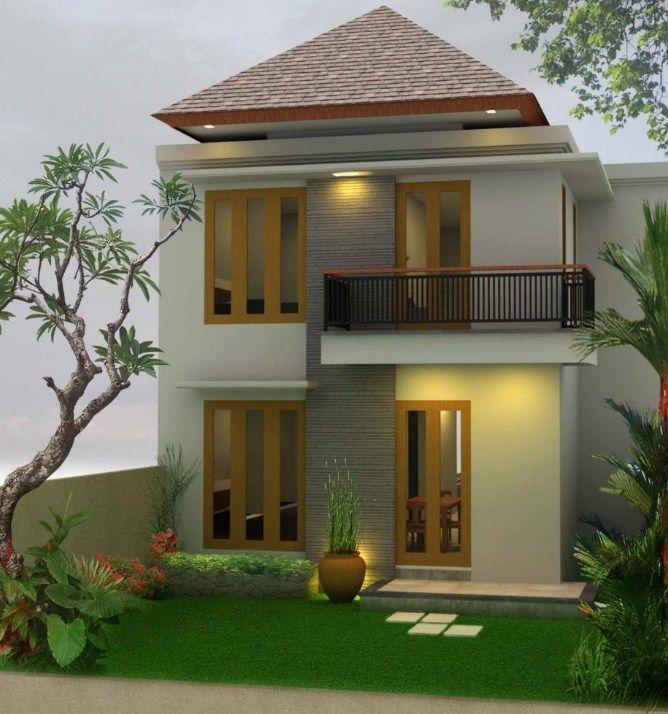 Gambar Design Interior Rumah Amerika  gambar rumah tingkat minimalis modern solusi lahan sempit