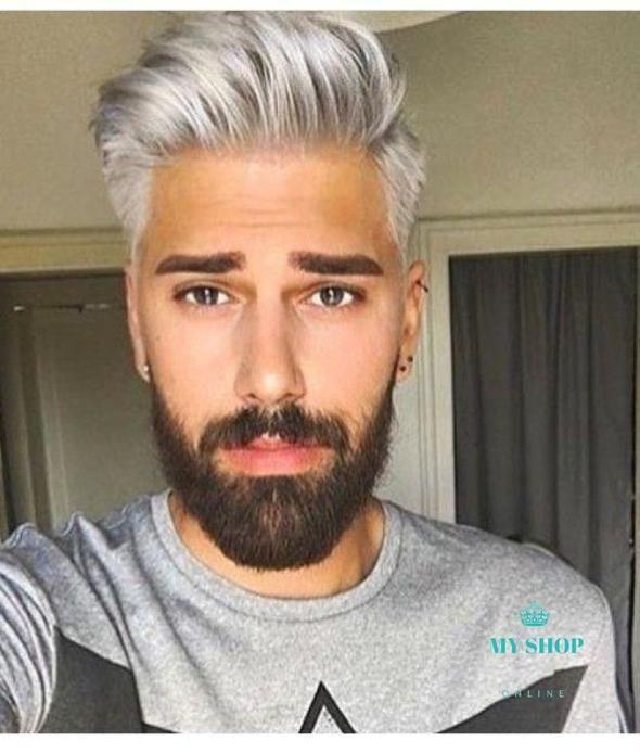 Strähnen bei männern blonde Frisuren für