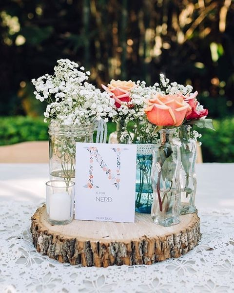 "Unique wedding table ""numbers""   #lovethis #stylist   #weddingstylist is @hustleandbustleevents  #photography by @reneenicolephotography   #weddingflowers by @brauns_fine_flowers #tabletop #tablescape #weddingreception #weddingdecor #weddingdetails #weddingtabledecor #weddingtableideas #weddingtableflowers #weddingfloraldecor #weddingrentals #placesetting #weddingplacesetting #wedding #weddingday #weddininspo #weddingchicks"