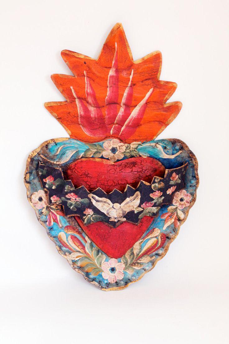 64 Best Milagro Or Sacred Hearts Images On Pinterest