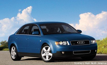 2002 Audi A4. I should have liked this better than I did.