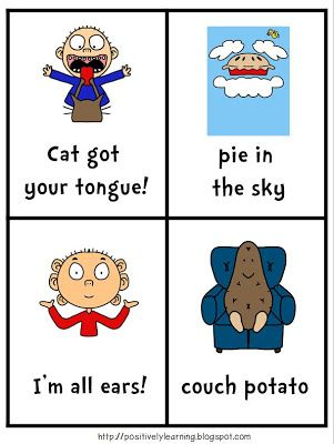 Idioms for April Fool's! pinned by @PediaStaff – Please Visit  ht.ly/63sNt for all our pediatric therapy pins