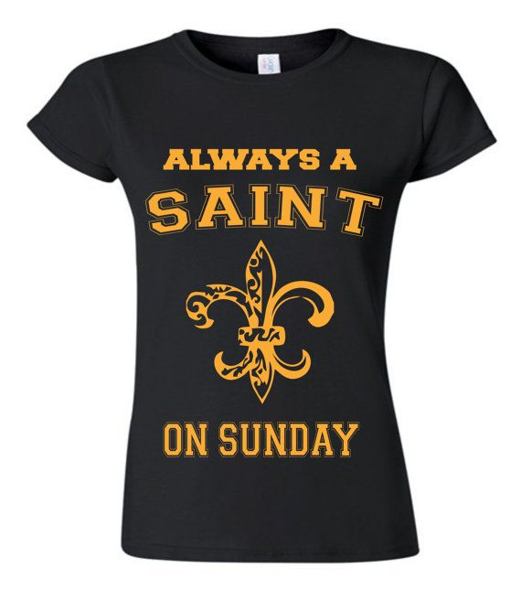 New Orleans Saints Womens Tshirt by Block451 on Etsy, $24.99