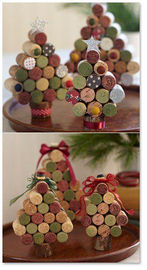 sapin de Noël en bouchon de liège
