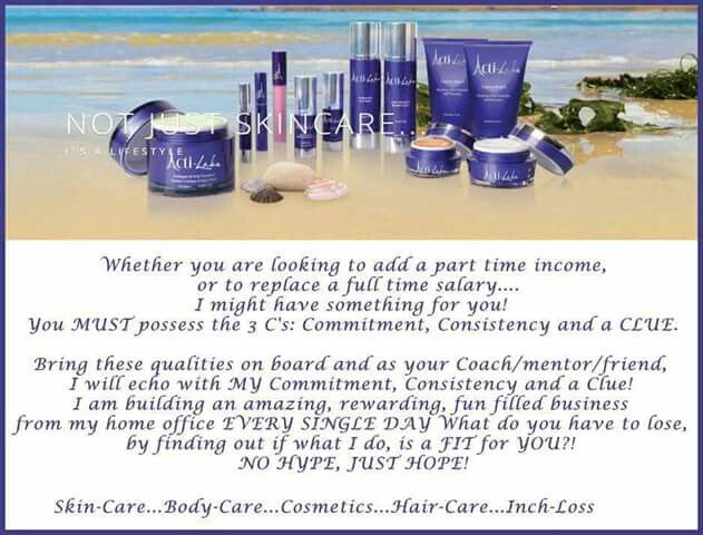 Fine high end Spa quality products made within strict EU standards for home use with very affordable prices. Check out my Facebook business page at   www.Acti-Labs.com/me/Mary-Martin