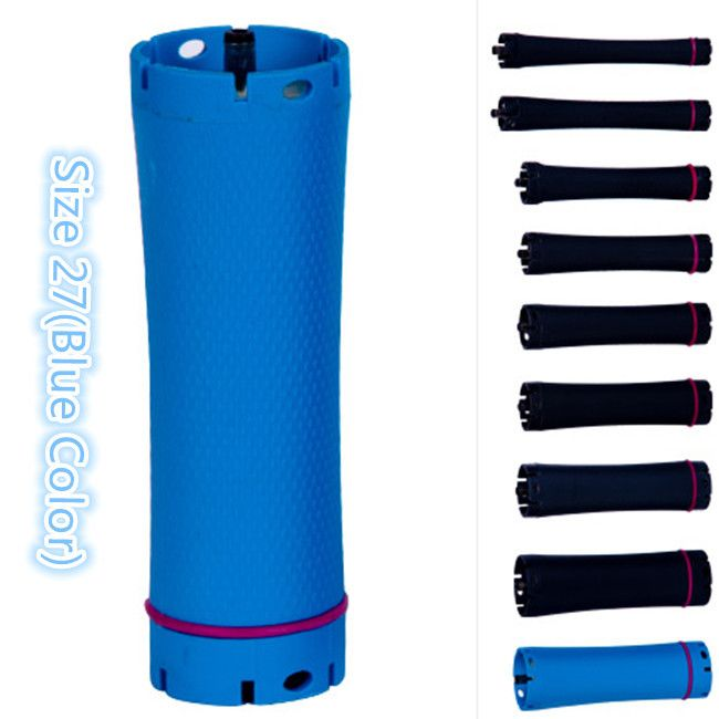 Hot Sale High Quality Hair Perm Roller, Perm Rod, Curler, 36 V output, Size 27, Blue Color