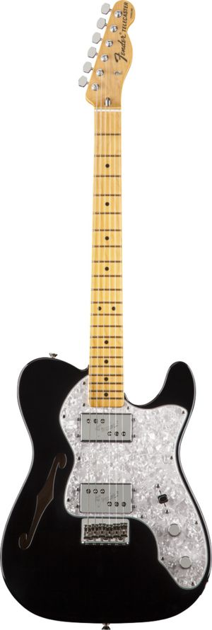 FSR American Vintage '72 Tele® Thinline Black, this has been a great guitar, even better with upgrades