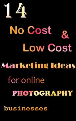 14 No Cost & Low Cost Marketing Ideas For Online Photography Businesses http://kkhphotos.wordpress.com/2012/10/18/14-no-cost-and-low-cost-marketing-ideas-for-online-photography-businesses/ #marketingideas #photography