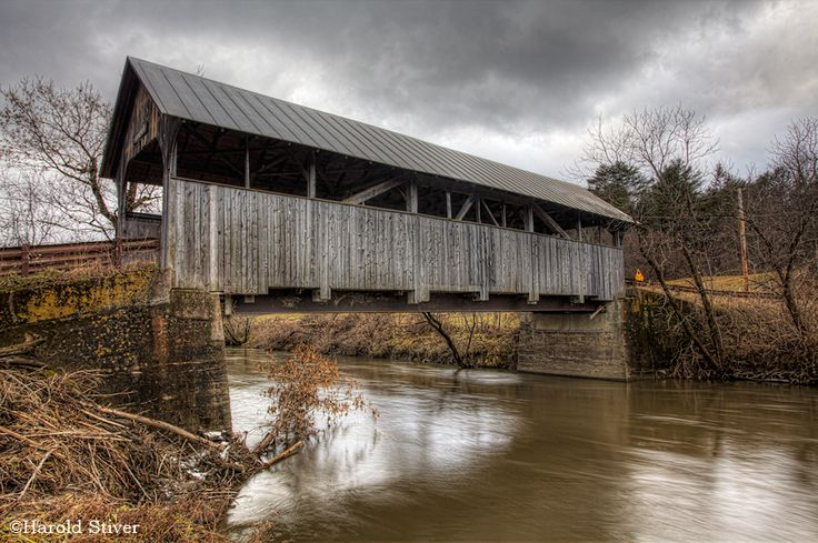 Coburn (Cemetery) Covered Bridge