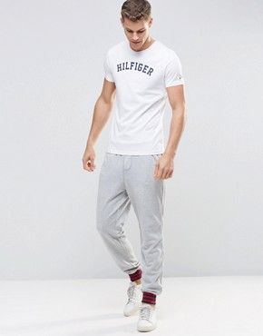 Tommy Hilfiger Colour Block Cuffed Joggers