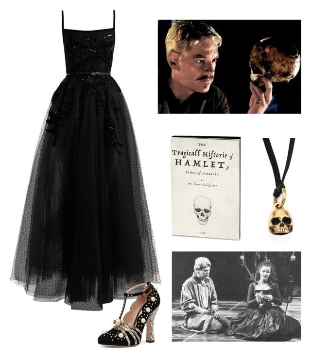"""Untitled #730"" by ladyasdis ❤ liked on Polyvore featuring King Baby Studio, Elie Saab, Gucci, contest and hamlet"