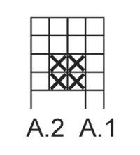 """Waffle Love - Strikket DROPS klut i """"Cotton Light"""" med strukturmønster. - Free pattern by DROPS Design"""