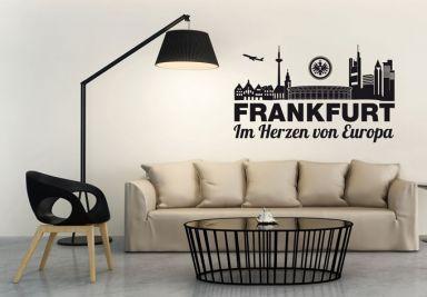 Eintracht Frankfurt Shop Wandtattoos Wandbilder
