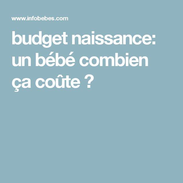 budget naissance: un bébé combien ça coûte ?