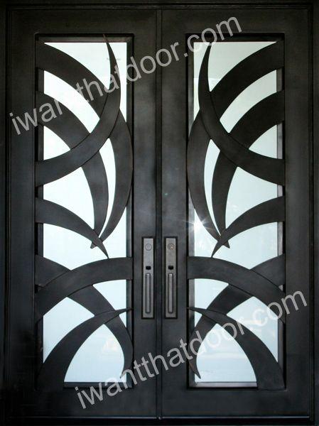 Tropical Iron Door