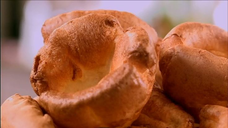 Mary Berry makes Yorkshire puddings in advance which you can reheat later.