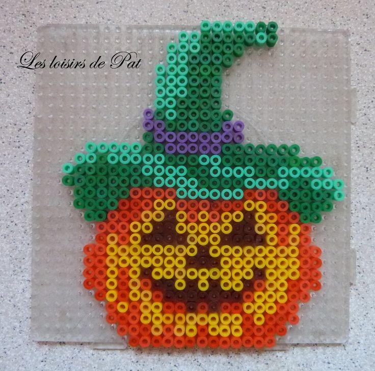 Halloween hama beads by Les Loisirs de Pat
