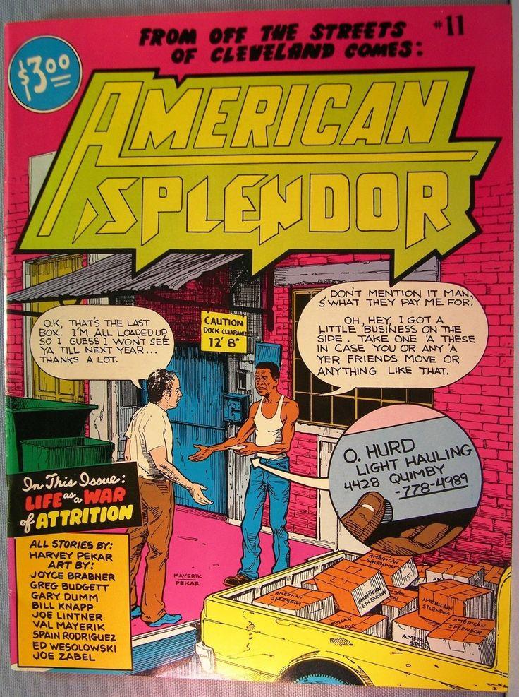 American Splendor #11~Harvey Pekar~1986 Near Fine | eBay