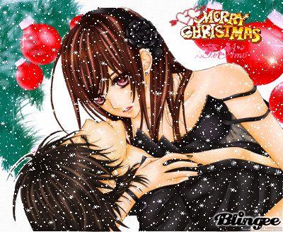 Dibujos Animados De Parejas En Navidad