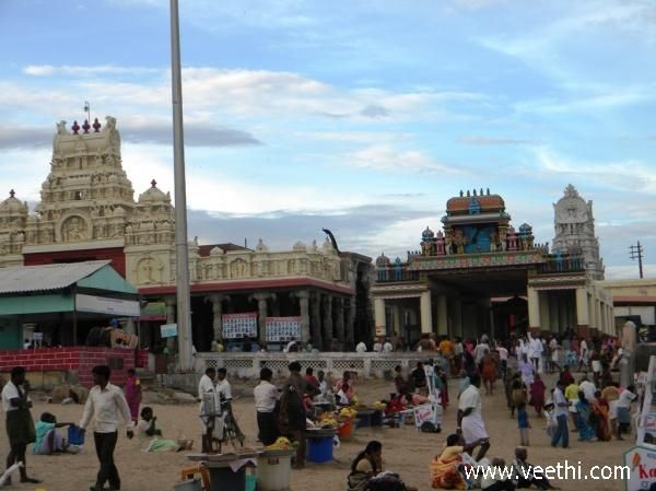 Kumari Amman Temple at Kanyakumari - Tamilnadu   Veethi