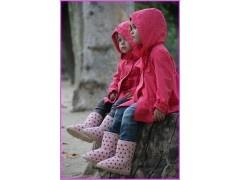 Botas lunares rosa