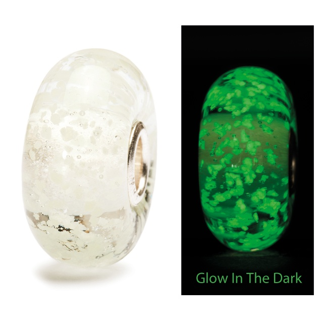 New Trollbead - Inner Glow. This glow in the dark glass is catching on!