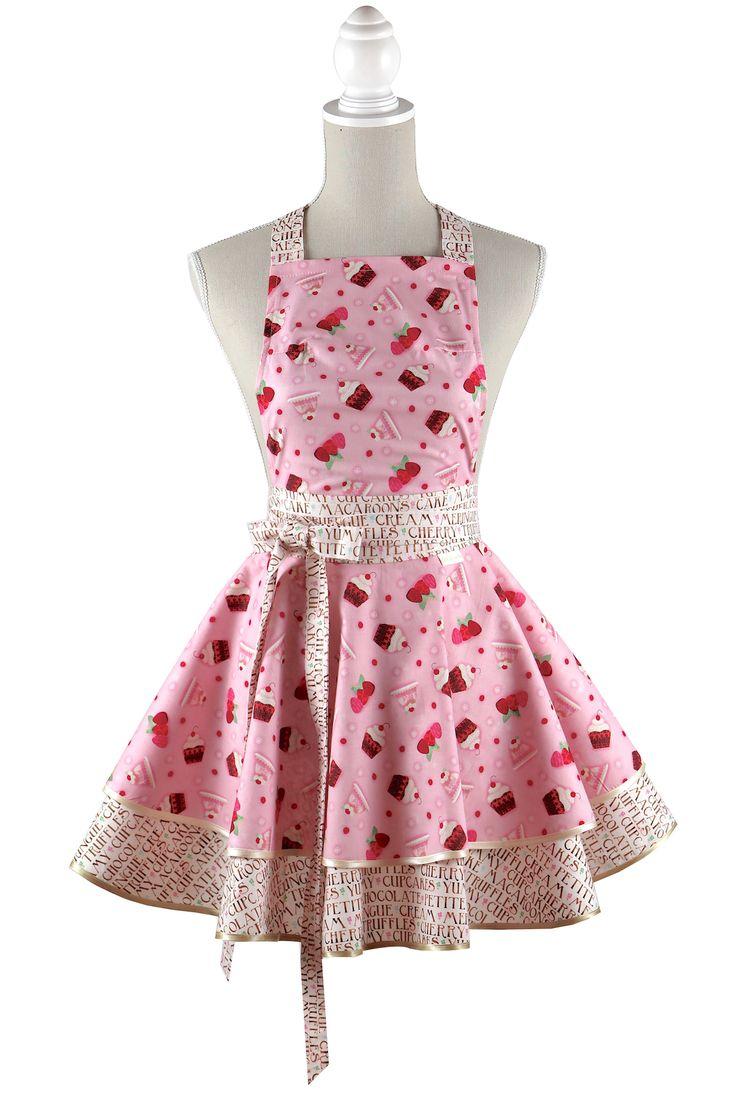 Luxury candy cupcake apron #aprons #chiclovely #cupcake #cupcakeapron #spxfabrics #cuteapron #gift