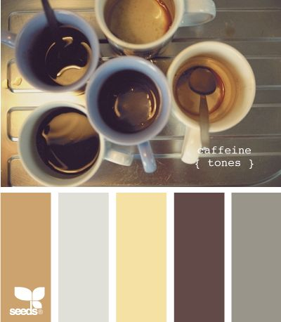 caffeine tones: Color Palettes, Design Seeds, Color Combos, Colors, Living Room, Caffeine Tones