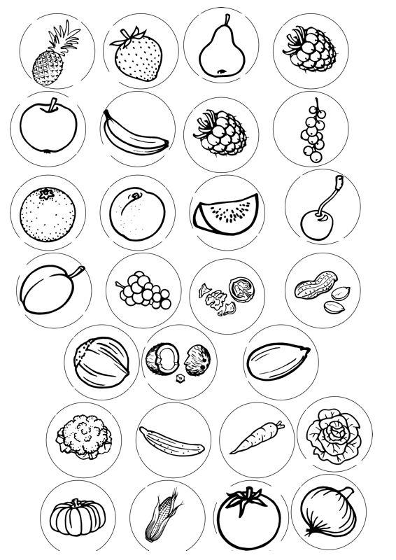 """Wieder einmal ein Erweiterungssatz für das alt bekannt Spiel """"Nanu"""" von Ravensburger*, diesmal zu den semantischen Feldern Obst / Nüsse / Gemüse. Die Beere - zu SES. Auf madoo.net für deine logopädische Therapie."""