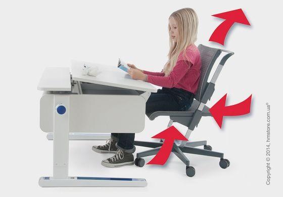 Компьютерное кресло для ребенка moll Scooter http://hmstore.com.ua/store/detskie-kresla/detskoe-kompyuternoe-kreslo-moll-scooter-moll-scooter-weiss