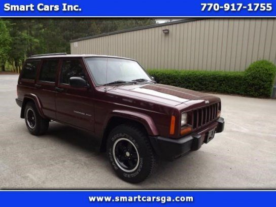 Cars For Sale Used 2001 Jeep Cherokee In 4wd Sport 4 Door