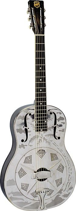 National Style O resonator guitar.