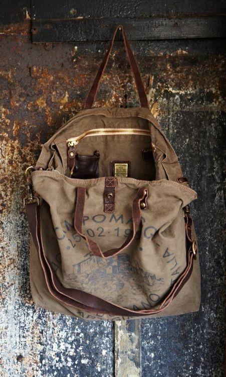 Worn Vintage Bag ★