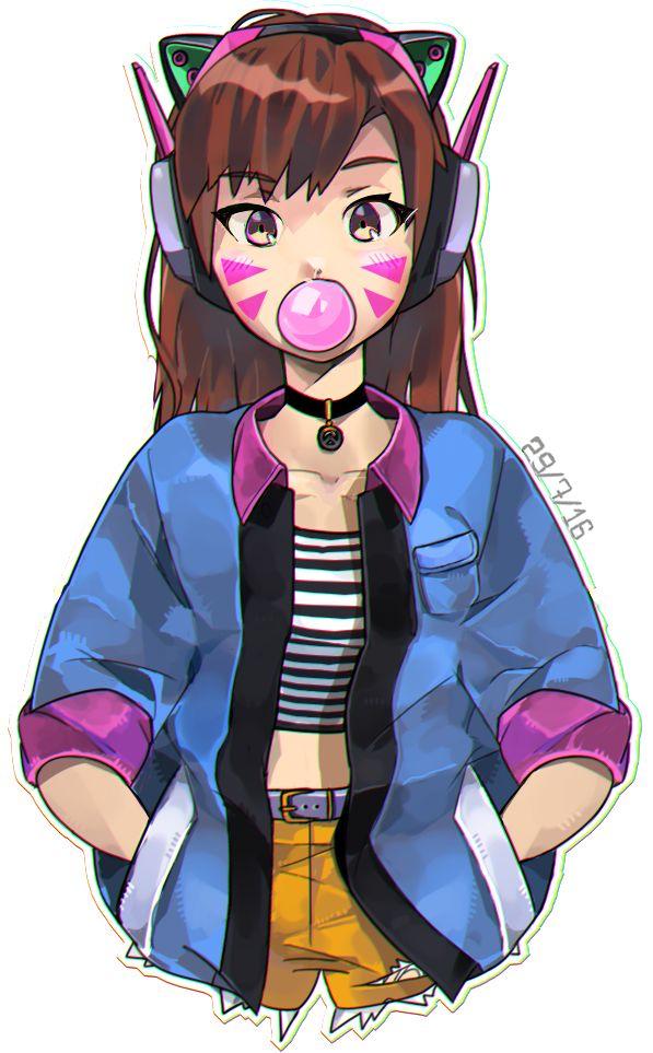 Bubblegum D.Va.