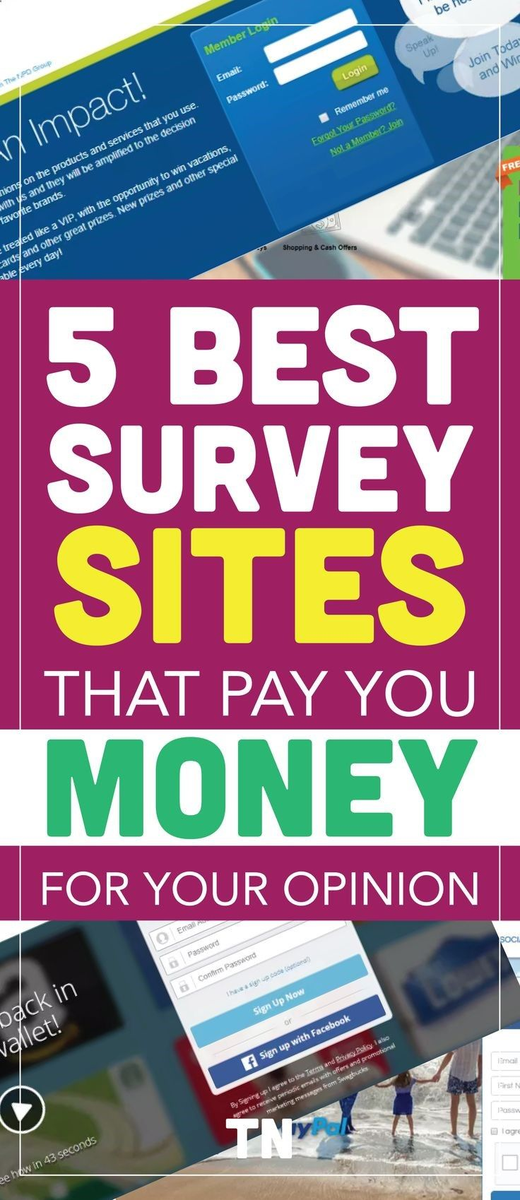 The BEST paid online surveys that you should check out to make extra cash this month. Paid online surveys that pay  paid online surveys  online survey sites  online survey canada  extra money  side hustles  online surveys for money