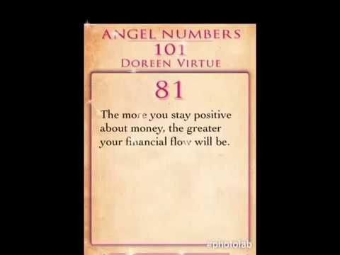 Daily Angel Number 81 by Doreen Virtue | Numerology | Angel