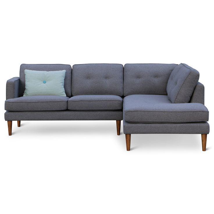 Retro design bank   Design meubelen en de laatste woontrends #bank #yepp #retro #vintage #scandinavisch #grijs #bank #massief #hout #zen #lifestyle #zenlifestyle #bank #couch #sofa
