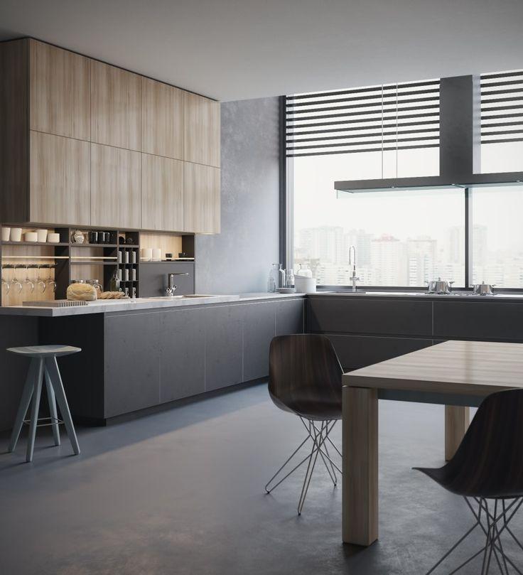 Kitchen 3D visualization (Poliform) by Aleksey Krivosheyev