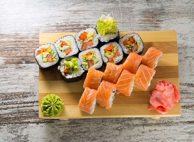 ❤️Learn which sushi rolls are worth choosing and which are diet sabotageurs. All my faves are listed. :/