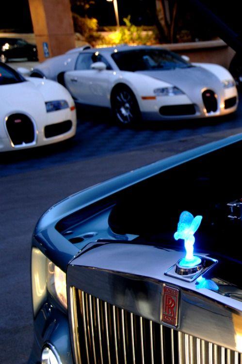 Bugatti's and Royce