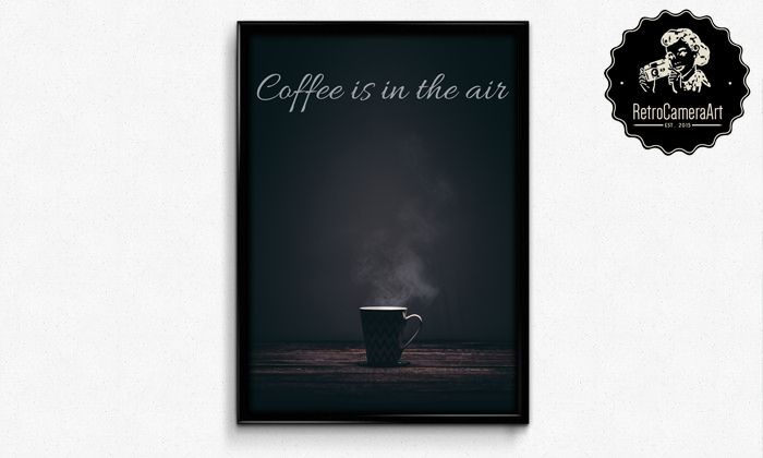 The air smells so good!  Coffee time!