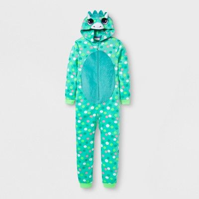 5b85704986 Girls  Polar Bear Graphic Blanket Sleeper - Cat   Jack White XS ...