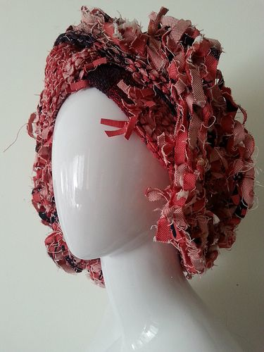 Denim scarf headpiece | Flickr - Photo Sharing!