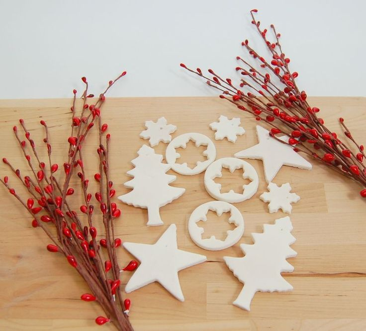 DIY: scented baking soda dough ornaments
