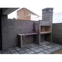 Resultado de imagen para frente de casas con rejas y ladrillos