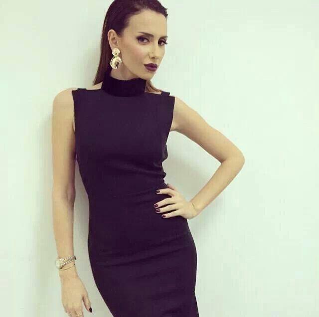 Emina Jahovic, Ozgur Masur dress