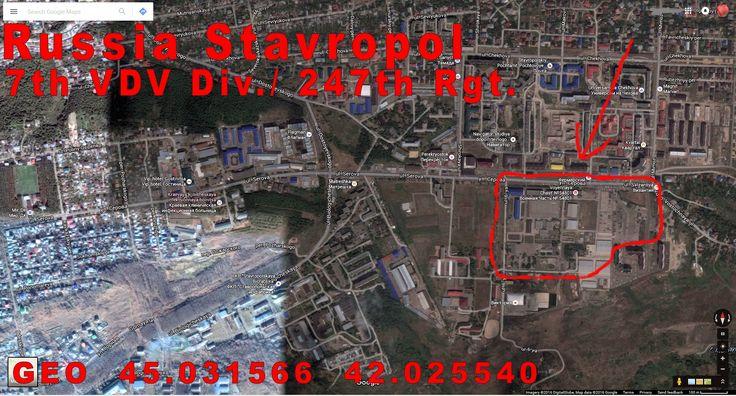 Stavropol Russia, 247th VDV Regiment.