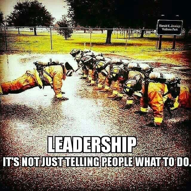 Leadership!                                                                                                                                                                                 More
